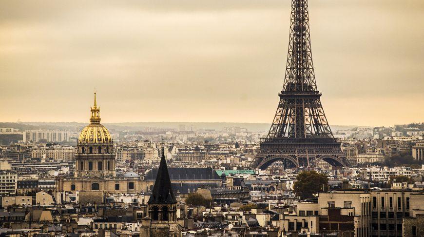 Париж из Алматы