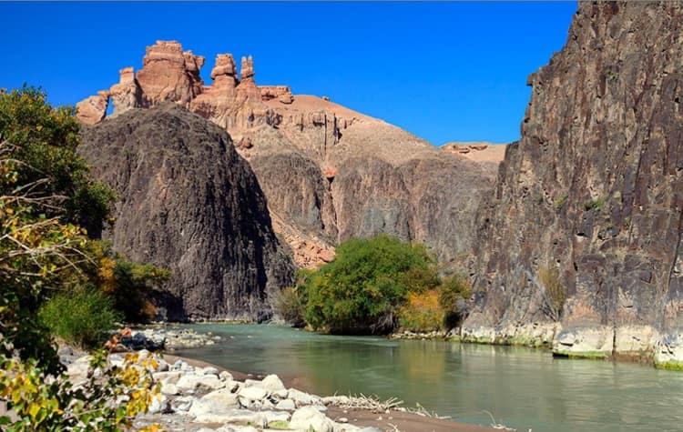 Как добраться в Чарынский каньон