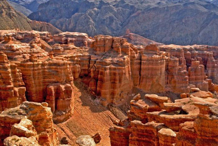 Чарынский каньон из Алматы