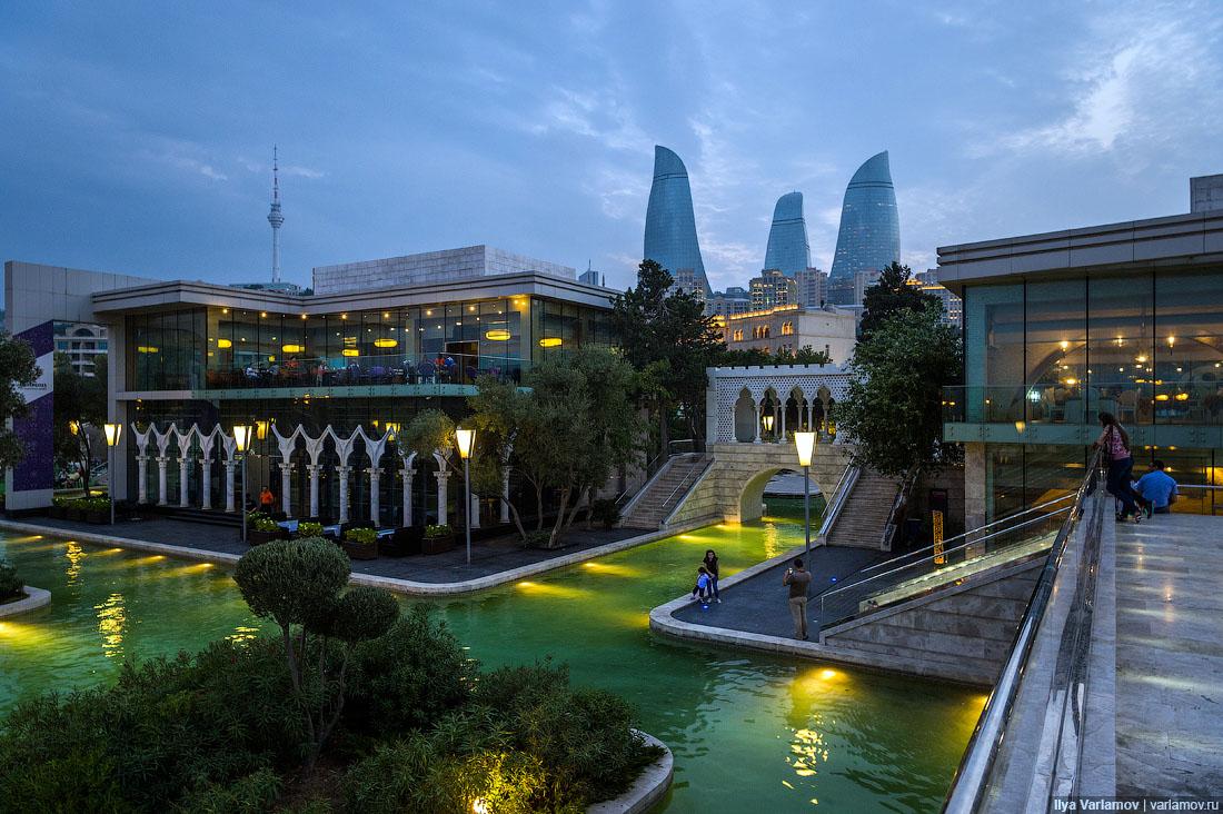 Горящие путевки из Алматы в Баку